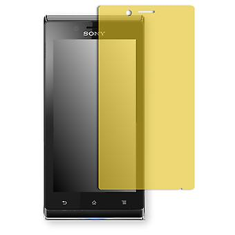 Sony Xperia ST26 display protector - Golebo view protective film protective film
