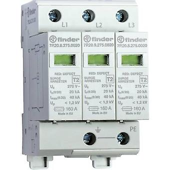 Surge arrester Surge prtection for: Switchboards Finder 7P.23.8.275.1020 7P.23.8.275.1020 20 kA