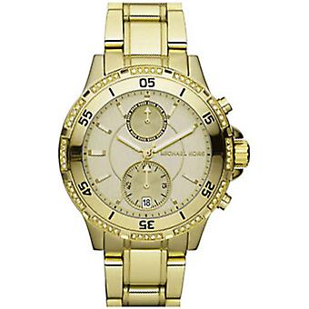 Michael Kors damskie damski chronograf Garrett Wrist Watch ton złota MK5619