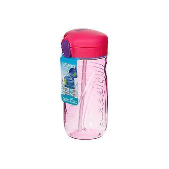 Sistema Quick Flip Bottle, 520ml Pink