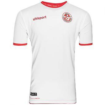 2018-2019 Tunisia Home Uhlsport Football Shirt