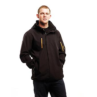 Regatta Mens Exosphere Stretch Waterproof Breathable Jacket Black