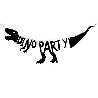 Dino parti Banner â dinosaurie Party Bunting 90cm dekoration