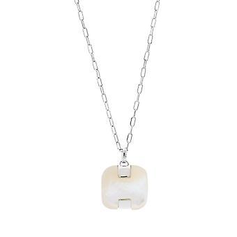 Misaki ladies necklace silver LEIA QCUPLEIA