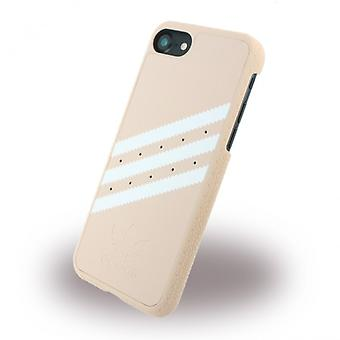 Adidas Moulded Hard Case für Apple iPhone 7 Schutzhülle Handyhülle Pink Weiss