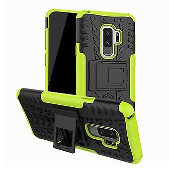 Hybrid case 2 piece SWL outdoor green for Samsung Galaxy S9 G960F bag cover
