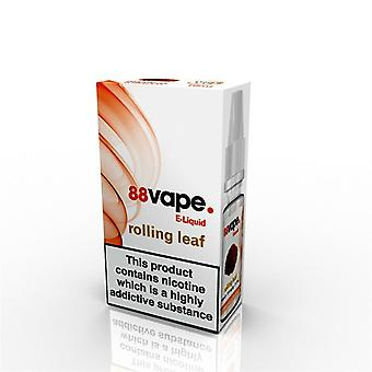 88 Vape E-Liquid Nicotine Rolling Leaf 10ML