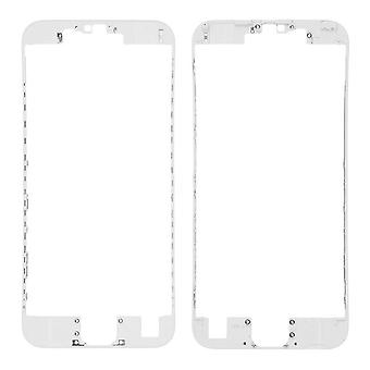 White Front Supporting Frame For iPhone 6S