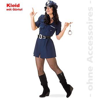 Police woman COP Lady costume Bill ladies costume police