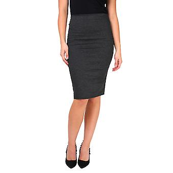 KRISP Ponte Knee Length Pencil Skirt