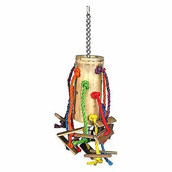 Bamboo Puzzle Bird Toy