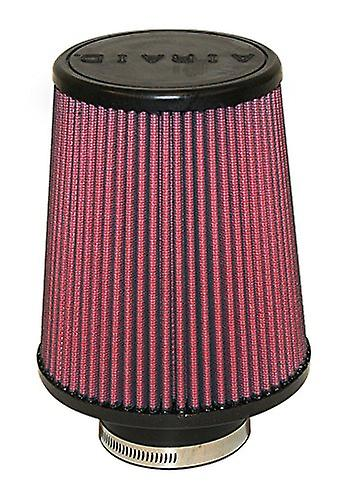 Airaid 700-494 Universal Clamp-On Air Filter  Round Taperouge; 3 in (76 mm) Flange ID; 7 in (178 mm) Height; 6 in (152 mm)