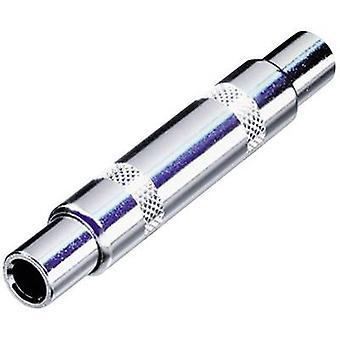 Rean AV NYS238 Jack Audio/phono Adapter [1x Jack socket 6.3 mm - 1x Jack socket 6.3 mm] Nickel
