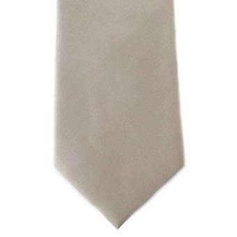 Michelsons de Londres llano Ployester Tie - Taupe