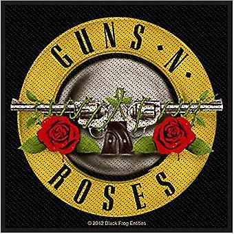 Guns N Roses Bullet Logo Sew-On Patch