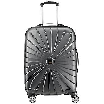 Titanium TriPort 4-rulle polycarbonat trolley kuffert 65 cm