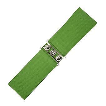 Días de baile cinturón elastizado Vintage oliva M