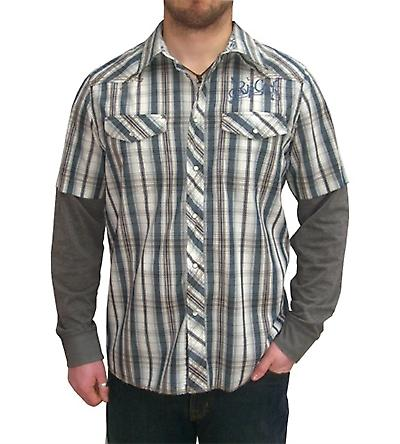 Rosario Double Layer Long Sleeve Shirt