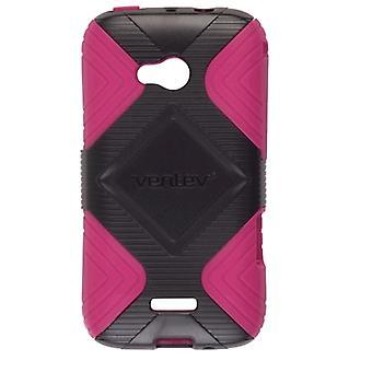 Ventev GEO taske til Samsung Galaxy sejr 4G LTE SPH-L300 (Pink/sort)