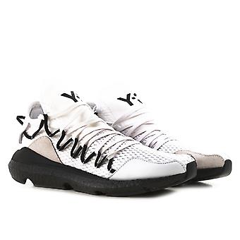 Y3 men's low top Kusari white sneakers shoes