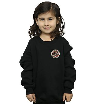 Nick Mason Mädchen Saucerful von Geheimnissen Faux Pocket Sweatshirt