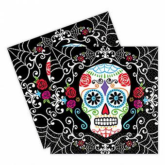 Amscan Day Of The Dead Luncheon Napkins