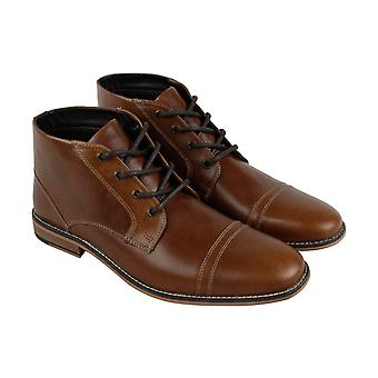 Kenneth Cole Reaction Kirve Boot A  Mens Brown Casual Dress Boots Shoes