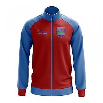 Dagestan Concept Football Track Jacket (Red) - Kids