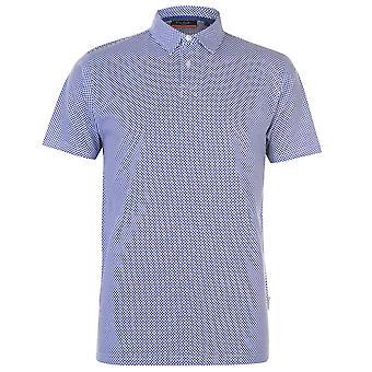 Pierre Cardin Herren Polo-Shirt Classic Fit T-Shirt Top Kurzarm Baumwolle gedruckt