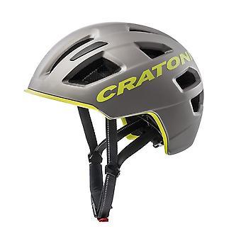 CRATONI C-Pure Fahrradhelm // anthrazit/lime matt