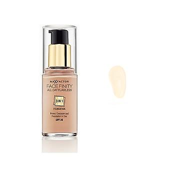 Max Factor Facefinity 3 In 1 Foundation 33 Crystal Beige