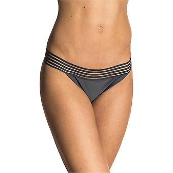 Rip Curl Dark Grey Illusion - Cheeky Womens Bikini Bottom