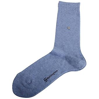 Burlington Lord Socks - Light Jeans Blue