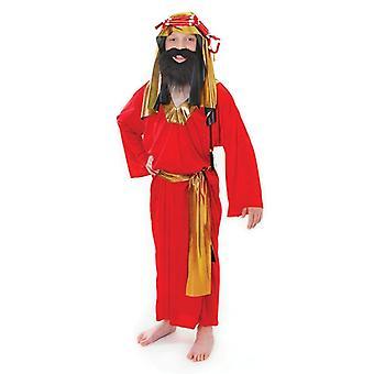 الرجل الحكيم الأحمر (سن صغيرة 3-5)