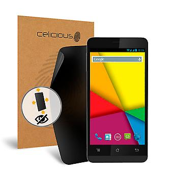 Celicious Privacy Plus 4-Way Anti-Spy Filter Screen Protector Film Compatible with Karbonn A34