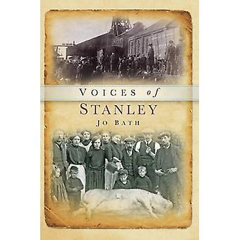 Voices of Stanley by Jo Bath - 9780752460376 Book