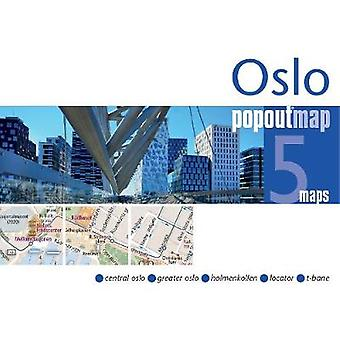 Oslo PopOut Map by PopOut Maps - 9781910218532 Book