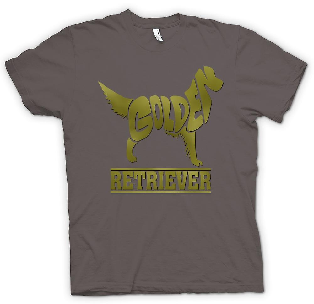 T-shirt-Golden Retriever