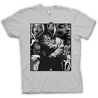 Vrouwen T-shirt - Tupac Collage - Hip Hop