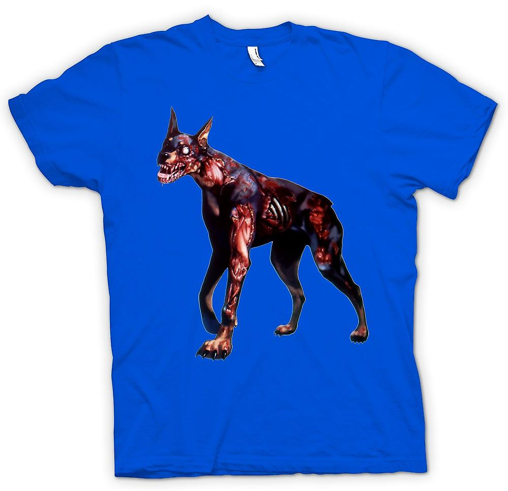 Hommes T-shirt - I Love Zombie Dogs
