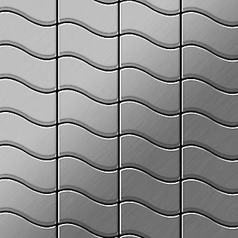 Metal mosaic Stainless Steel ALLOY Flux-S-S-B