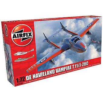Airfix A02058A deHavilland Vampire T.11/J-28C