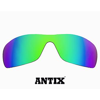 ANTIX Replacement Lenses Green Mirror by SEEK fits OAKLEY Sunglasses