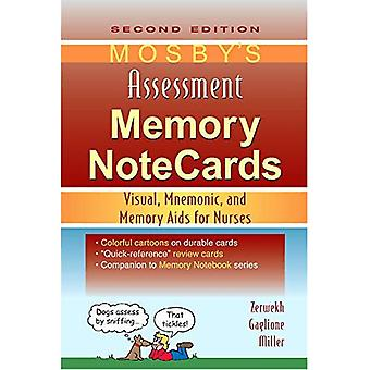 Mosby's Assessment Memory NoteCards: Visual, Mnemonic, and Memory Aids for Nurses