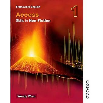 NTFE Skills in Non-Fiction (Access) 1: Access Skills in Non-fiction Bk. 1 (Nelson Thornes Framework English)
