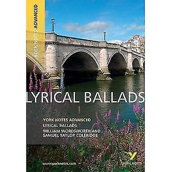 Lyrical Ballads (York Notes Advanced)