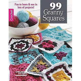 99 Granny Squares: Fun to Learn & Use in Lots of Projects!