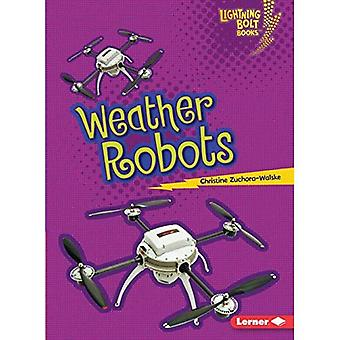 Weather Robots (Lightning Bolt Books Robots Everywhere!)