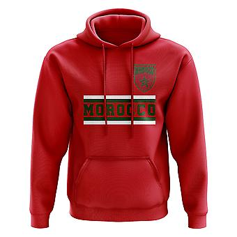 Morocco Core Football Country Hoody (Red)
