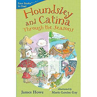 Houndsley et Catina à travers les saisons